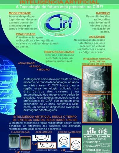 Inteligência Artificial está presente no CIRF!