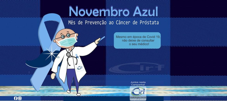 Cartão Novembro Azul-Cirf+