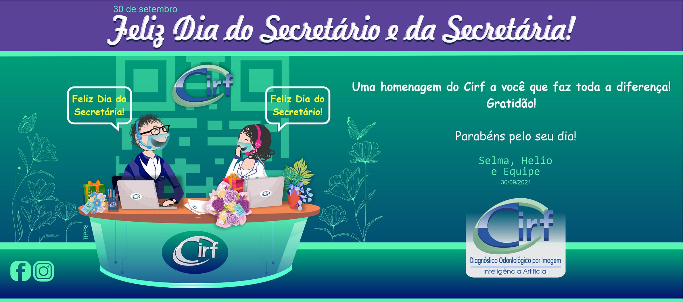 Cartão Dia dos Secretários-Cirf
