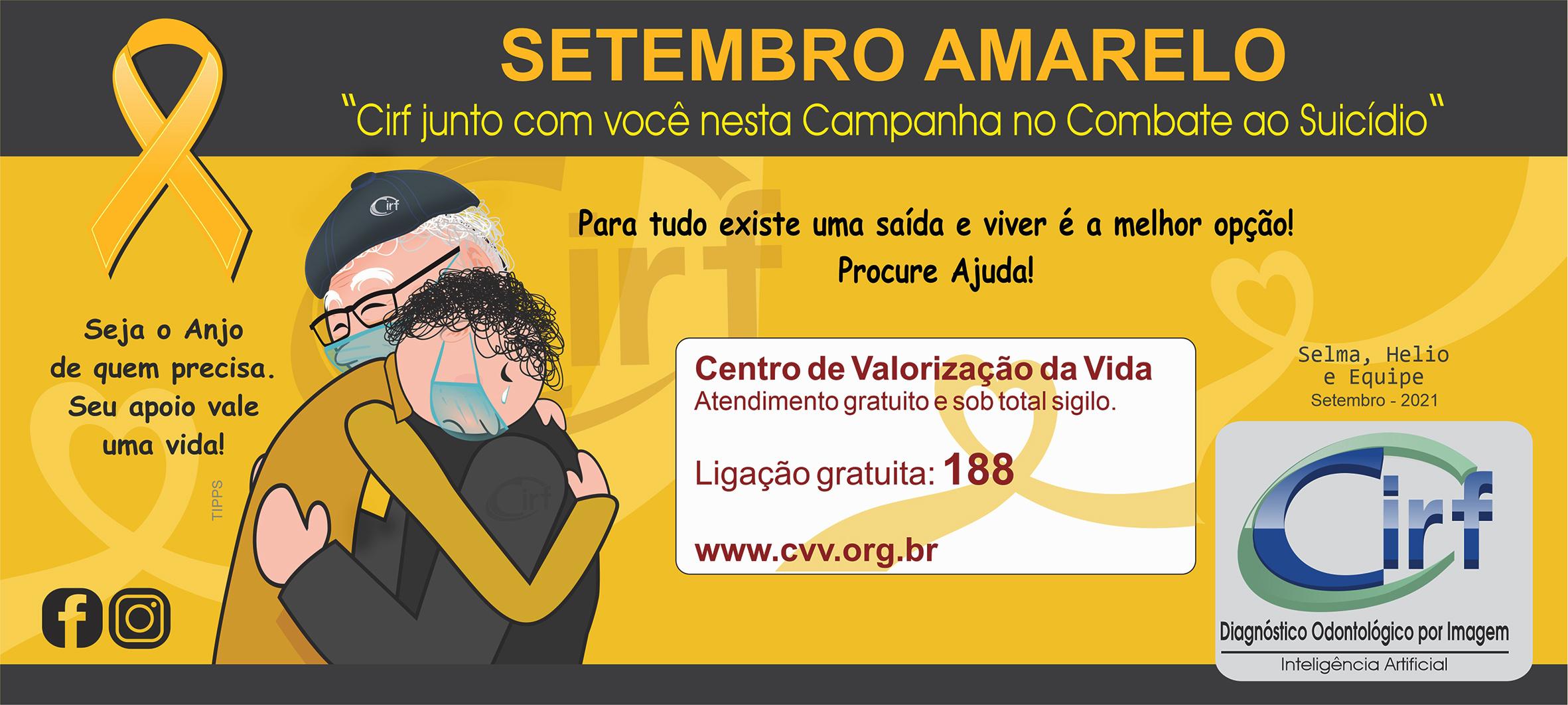Dia Mundial de Prevenção ao Suicídio-Cirf